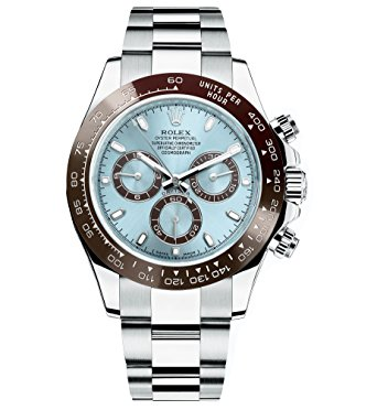 Mens Watches Rolex Oyster Perpetual Cosmograph Daytona Ice Blue Dial Automatic Mens Chronograph Watch 116506