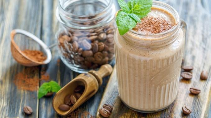 Super Caffeinated Bone Broth Smoothie