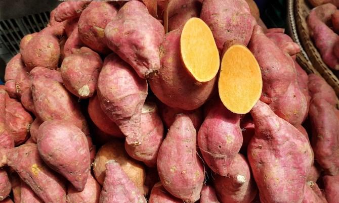 Happy foods: Süßkartoffel