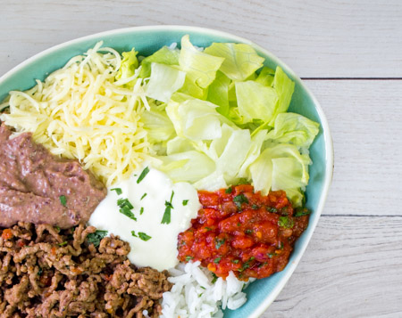 Burrito Bowl Beef Punch