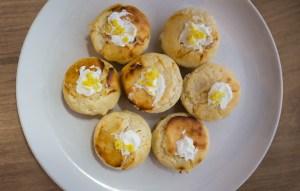 Magerquark: Gesunde Zitronen-Muffins mit Topping