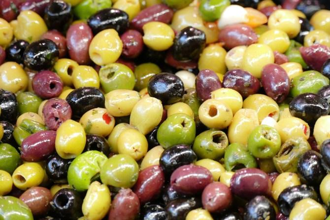 Oliven: Farben