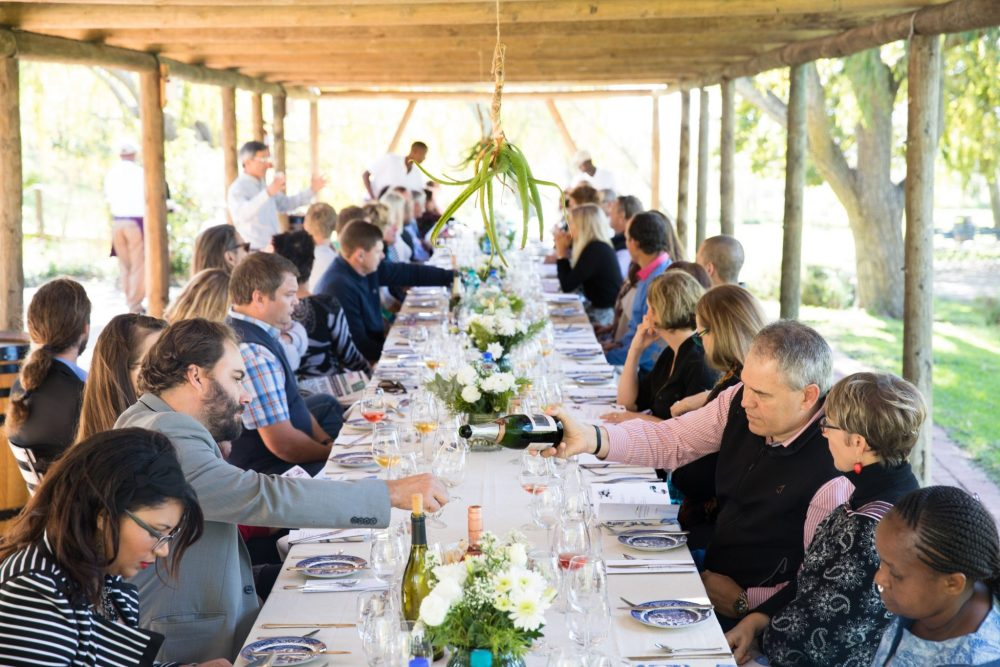 table diners bottelary hills winemakers lunch george jardine sonia cabano blog eatdrinkcapetown food wine travel