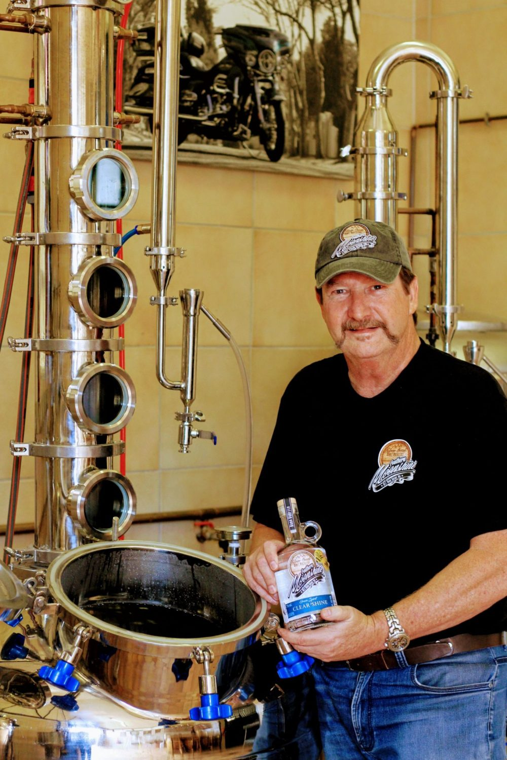 Silver Creek Moonshine Chief Distiller and Founder Mark Taverner sonia cabano blog eatdrinkcapetown