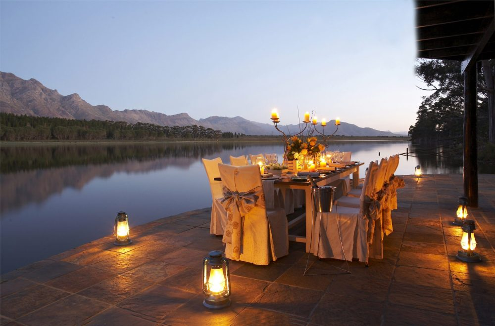 Dinner lake Bartholomeus Klip Sonia Cabano blog eatdrinkcapetown