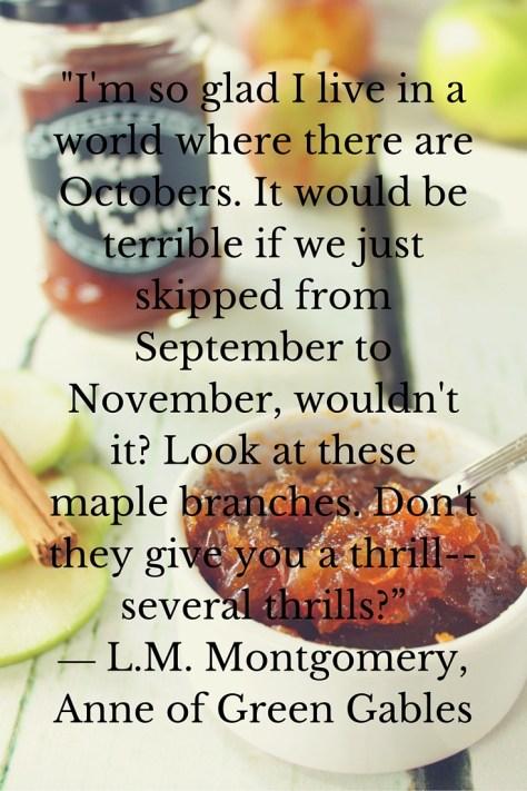 october seasonal food