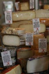 Selection of Cheese from Say Cheese in Silver Lake
