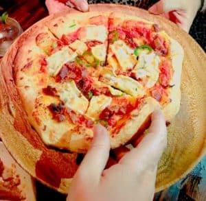Double Cream Brie Pizza - EatDrinkLA