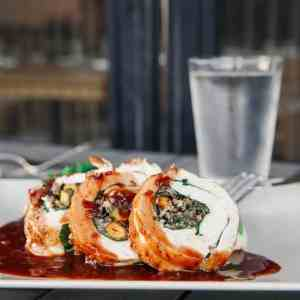 Wild Rice Pistachio Turkey Roulade - The Mar Vista