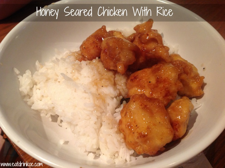 honey seared chicken