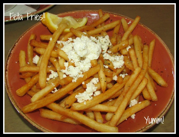 Luna Grill Feta Fries
