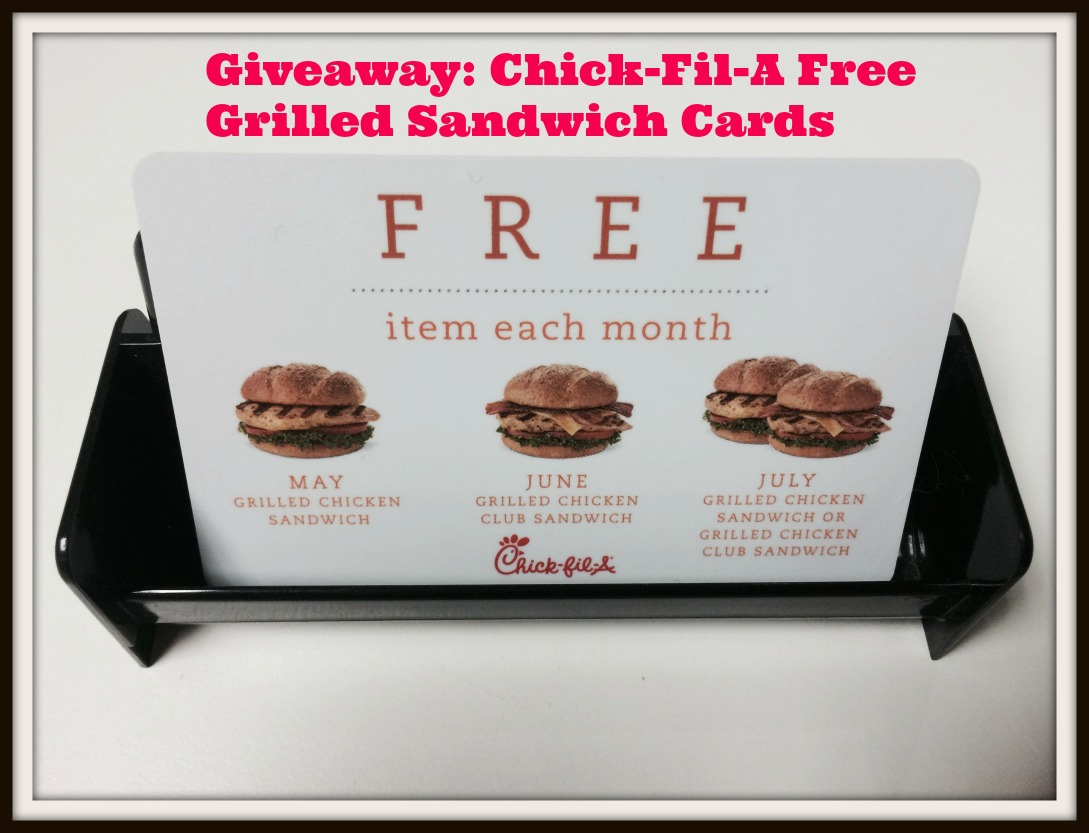 chickfila giveaway giveaway chick fil a free grilled sandwich cards eat 464
