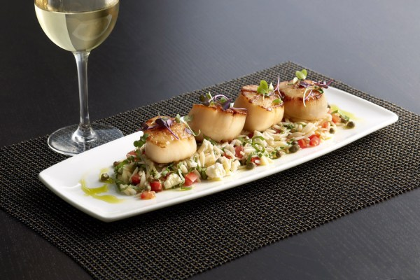 Scallops from The Oceanaire Seafood Room