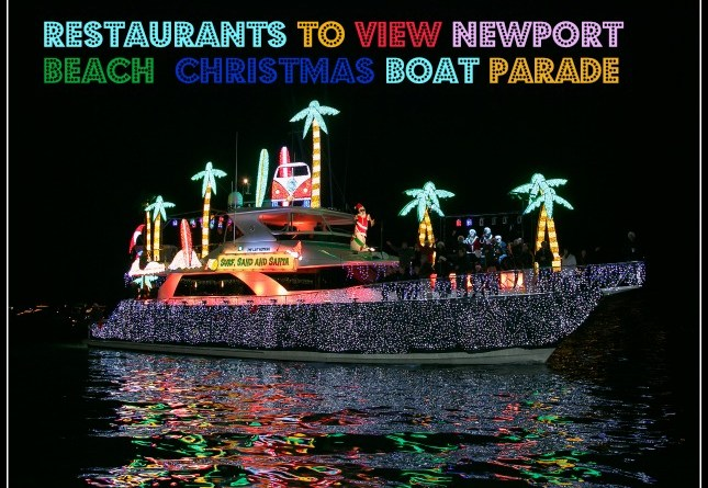 Christmas Boat.Restaurants To View The Nb Boat Parade Eat Drink Oc