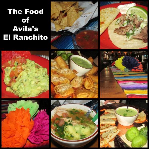 Avila's El Ranchito food