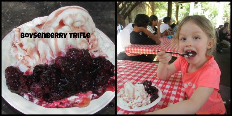 Boysenberry Festival Trifle