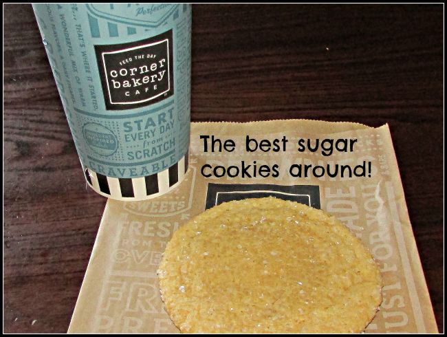 Corner Bakery sugar cookie