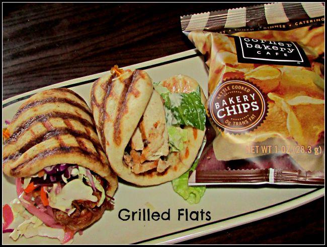 Flatbread sandwiches Corner Bakery
