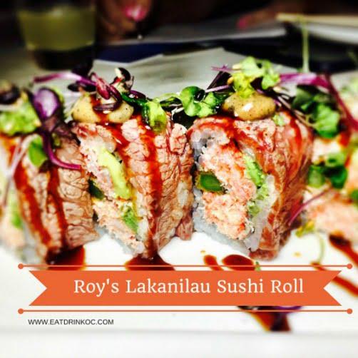 Roy's Lakanilau Sushi Roll-3