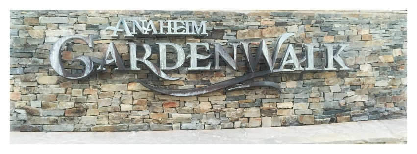 Restaurants In Garden Walk Anaheim: Anaheim Gardenwalk Part 1
