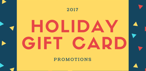 2017 Holiday Gift Card Options