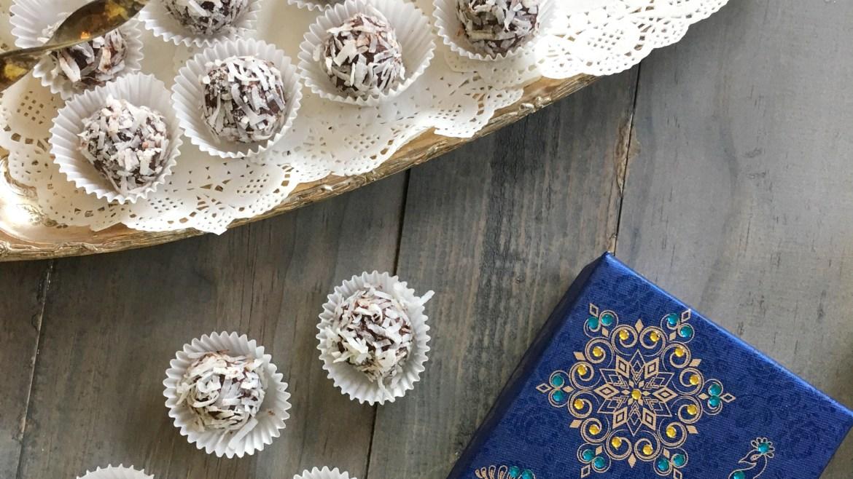 Healthier Coconut Truffles
