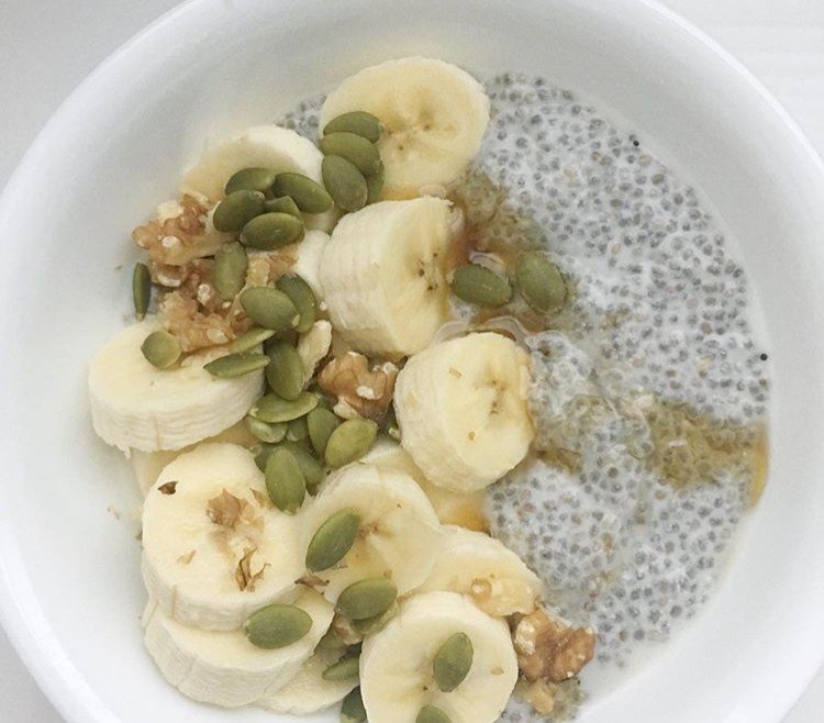 Gluten Free Breakfast Options: Chia Pudding