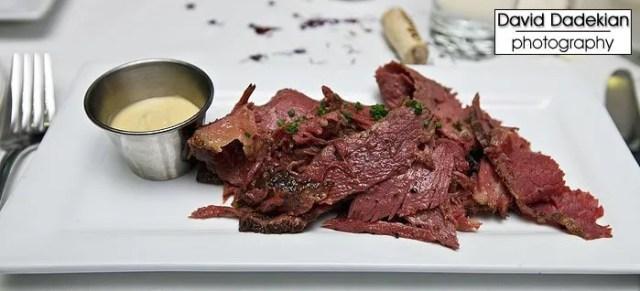 warm beef pastrami
