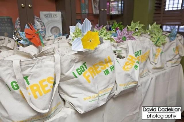 """I Got Fresh in RI"" www.getfreshbuylocal.org reusable canvas bags"