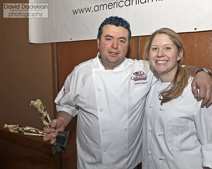 Chef Jason Santos and Brittany Hagan
