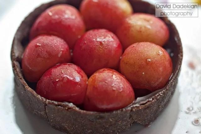 Gracie's Chocolate Cherry Tart 2