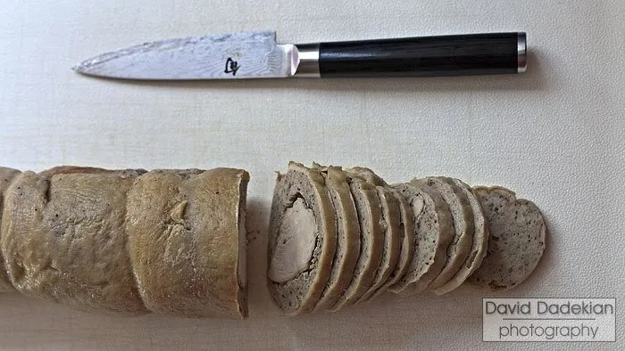First slices of galantine