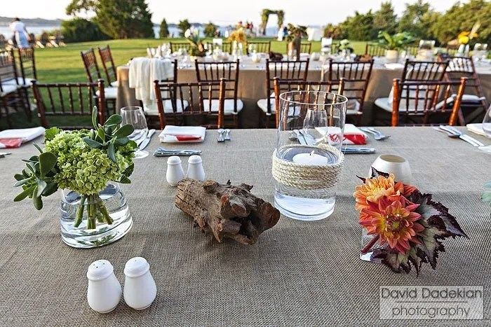 Castle Hill Inn clambake tablescape 2