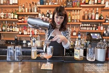 Cook & Brown Public House Bar Manager Jennifer Ferreira