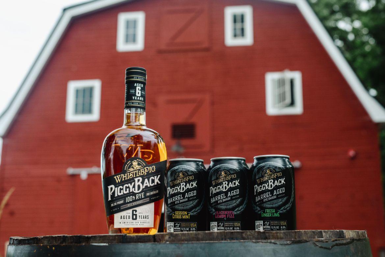 WhistlePig Whiskey PiggyBack Barrel Aged Rye Smash