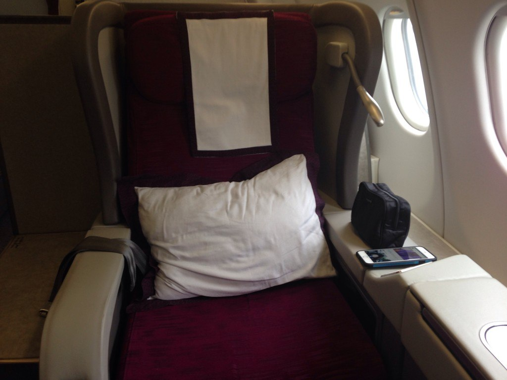 Starwood Preferred Guest Dubai Qatar Airways First Class