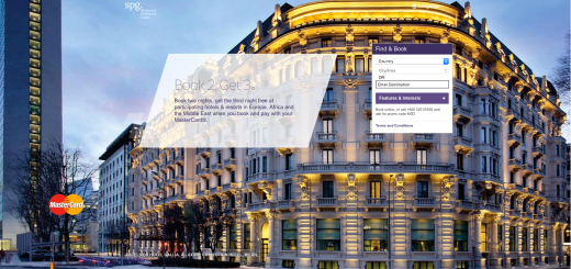 Starwood Book 2 Get 3 EAME Mastercard offer