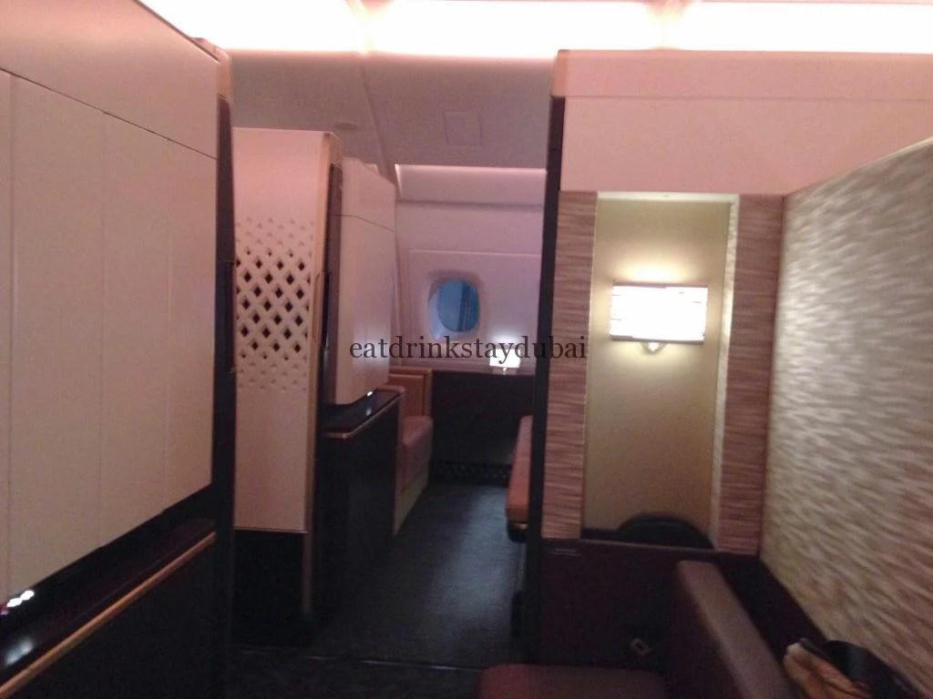 Etihad A380 First Class Apartment: Interior