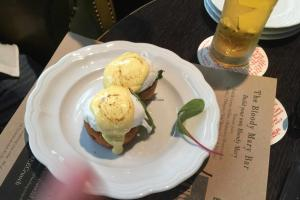 Eloquent Elephant Brunch: Eggs Florentine