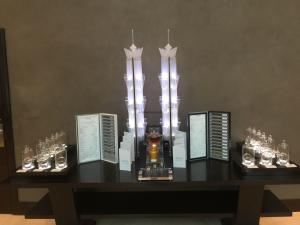 Hotel Review JW Marriott Marquis Dubai: Towers Tea Display
