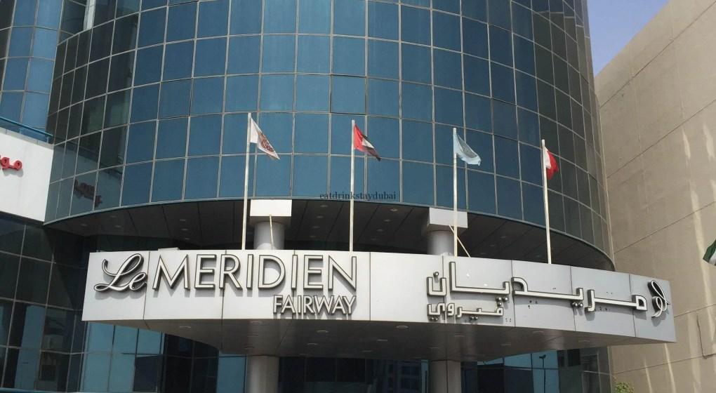 Hotel Review Le Meridien Fairway: front