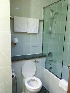 Hotel Review Le Meridien Fairway: bathroom 2