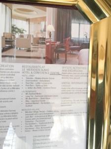 Hotel Review Le Meridien Fairway: Le Meridien Dubai info