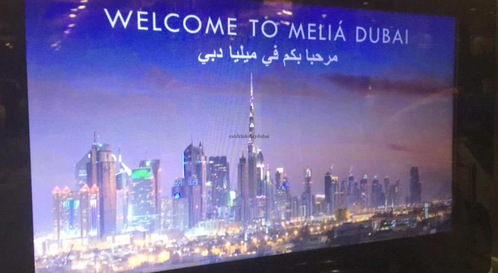 Hotel Review Melia Dubai