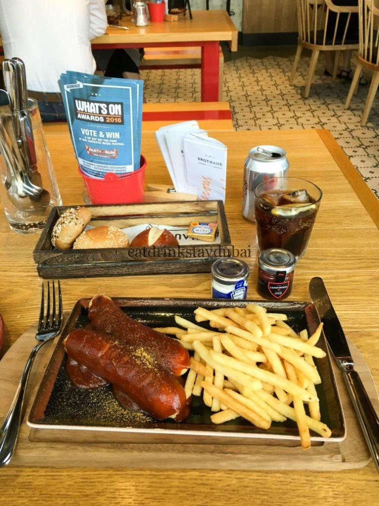 Brothaus Bakery Bistro_food currywurst