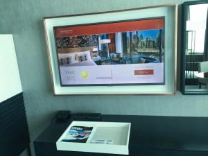 Steigenberger Hotel Dubai Review_room 2_TV