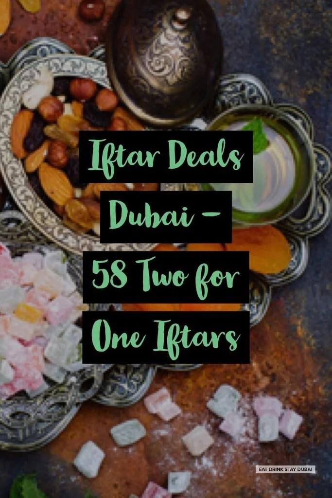 Iftar Deals Dubai c/o Dusit Thani Dubai