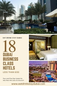 Business Hotels Dubai - 18 Dubai hotels less than $130