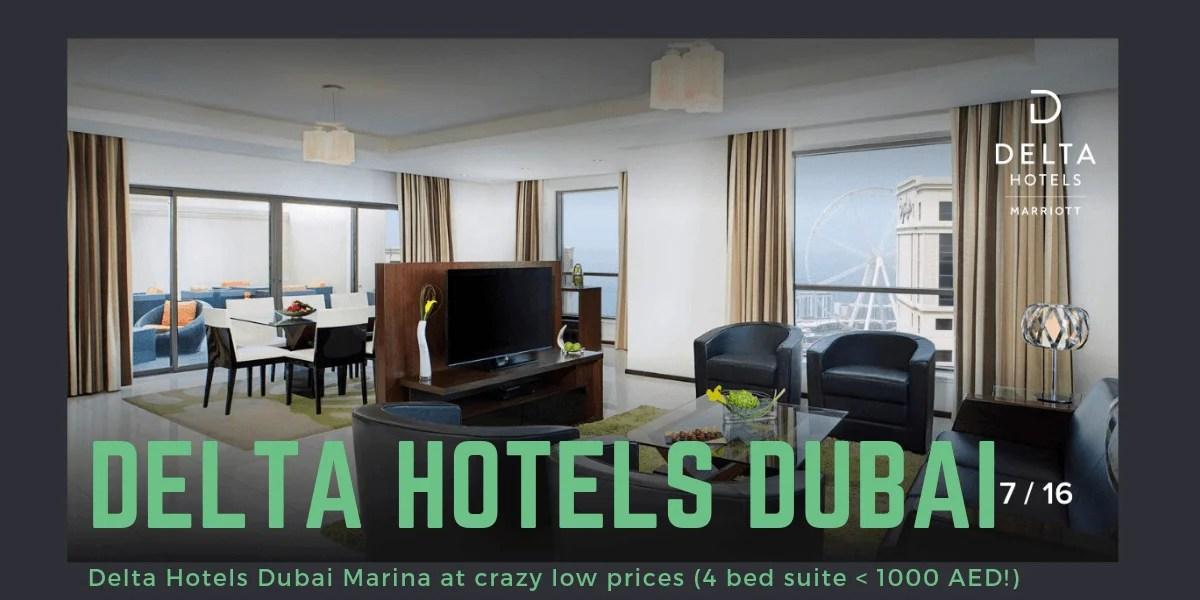 Delta Hotels Dubai Jumeirah Beach