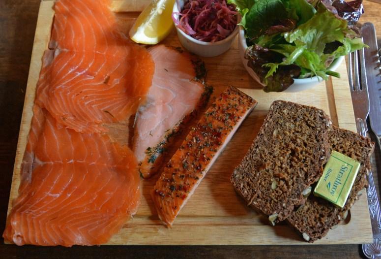 Burren smokehouse salmon
